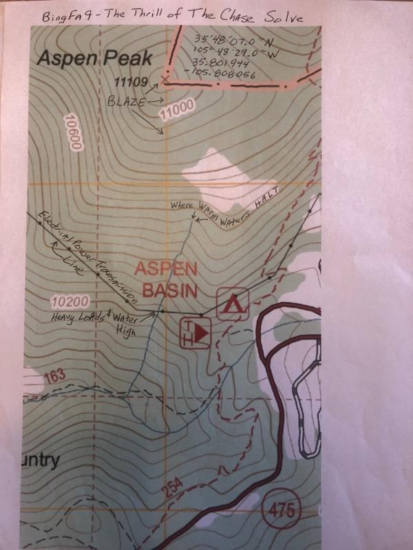 BingFa's Map & Solve of Fenn's Poem