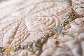 Colourful Cutwork Antique Tablecloth ...
