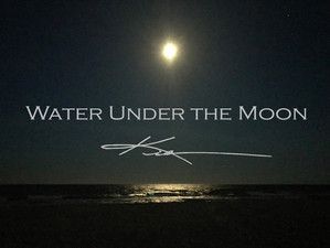 Water Under The Pink Full Moon