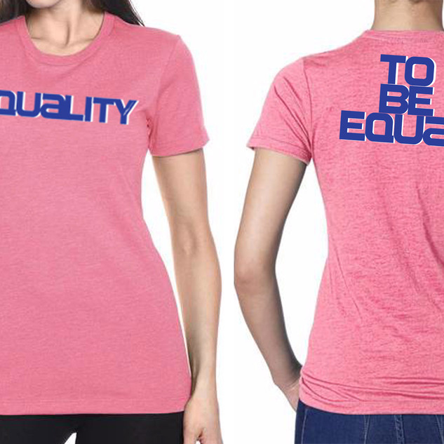 Women's  Equality Pink