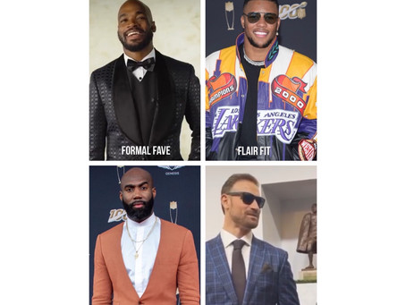 OUR NFL HONORS FASHION AWARDS