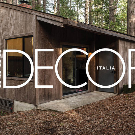 Elle Decor Italia | A 1960's California Cottage Gets a Second Chance