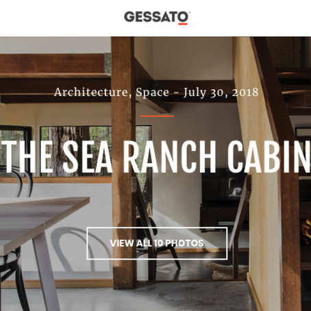Gessato | The Sea Ranch Cabin