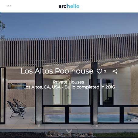 Archello | Los Altos Poolhouse