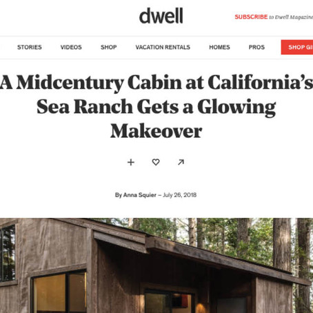 Dwell | A Midcentury Cabin at California's Sea Ranch Gets a Glowing Makeover
