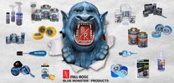 Blue Monster Banner