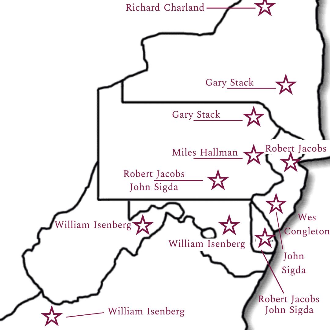 Mid-Atlantic Rep Map