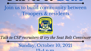 Faith & Blue Event will Bring Troopers to Hartford to Meet, Interact with Residents & Clergy
