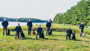 Seven K-9 tracking teams graduate