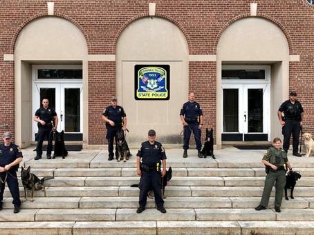 Search & Rescue K-9 Teams Graduate