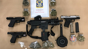 Connecticut State Police Firearms & Narcotics Seizure