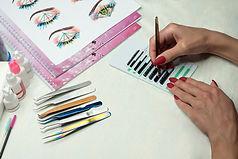 Equipment of eyelash extension, basic tu