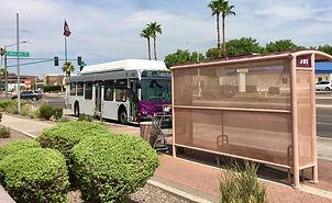 Phoenix Bus pulling up to stop.jpg