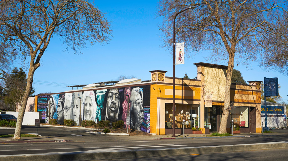 San Pablo Avenue - Channing Way to University