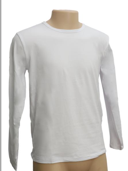 Sueter unisex manga larga tacto algodon sublimables o vinilos termicos