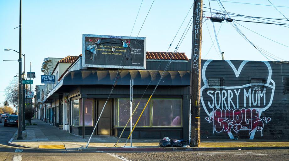 San Pablo Avenue - Stanford to Alcatraz