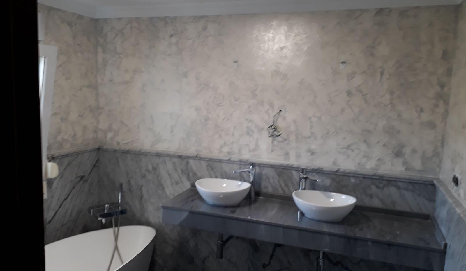 Renovación de baño en vivienda alta decoración