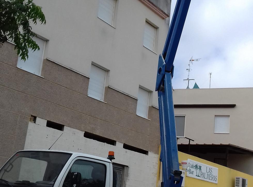 Rehabilitación de edificio Dolmen