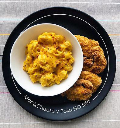 Mac&Cheese y Pollo no frito