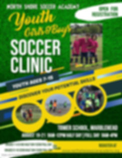 Copy of Youth Soccer Camp Flyer Template