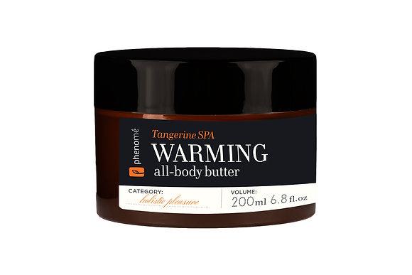 Rozgrzewające masło do ciała Warming