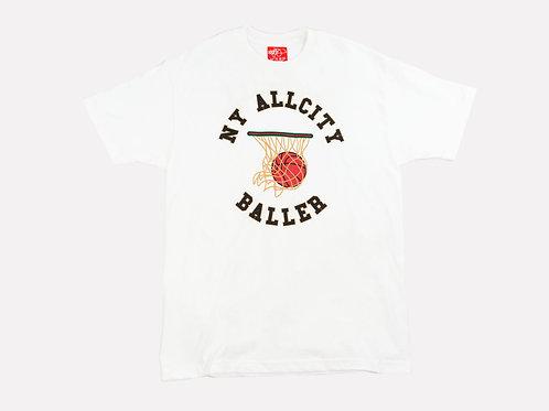 All City Baller tee - White