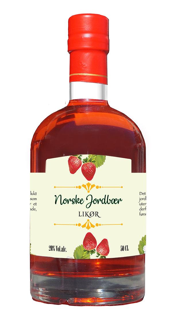 Norske Jordbær Likør