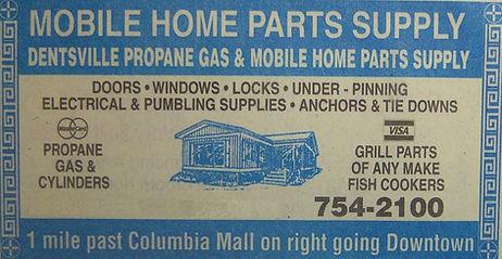 dentsville propane gas & mobile home parts supply
