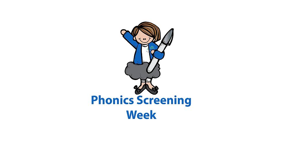 Phonics Screening Week