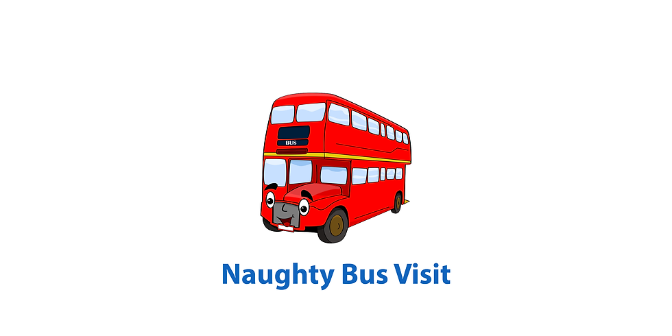 Naughty Bus Visit for Reception
