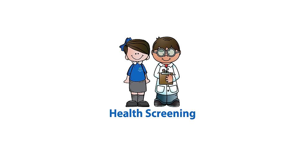 Reception Health Screenings