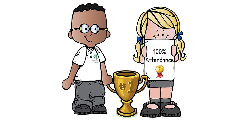 100% Attendance Prize Giving Assembly