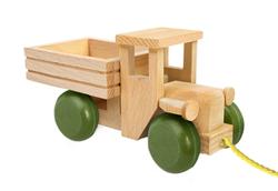 Wooden Truck Green