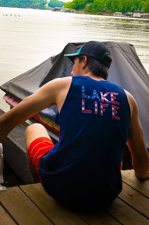 Ozark Tank Top (navy)
