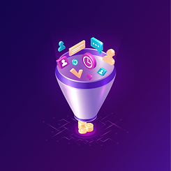 —Pngtree—sales funnel isometric icons il