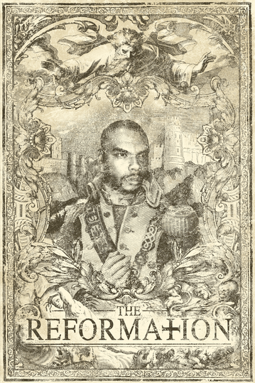 "Illustration of 24""x36"" poster for Bishop Lamont album ""The Reformation: G.D.N.I.A.F.T"""