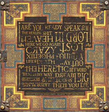 "Back cover art for recording artist Bishop Lamont's debut album, ""The Reformation"""