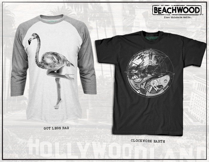 Art Direction / graphic development & merchandising for clothing brand Beachwood, exclusive for Nordstrom's, 2015.