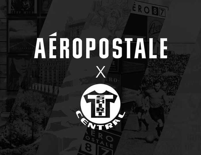 Art Direction / Graphic development & merchandsed presentation deck of New York themed capsule collection and in store re-branding for Aeropostale for T-Shirt Central.