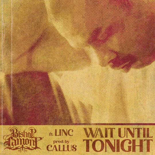 Single cover art for recording artist Bishop Lamont.