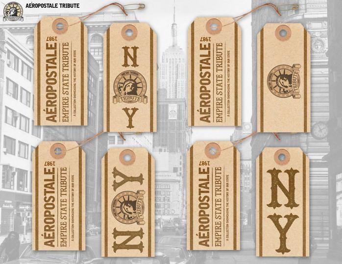 Branded hangtag design