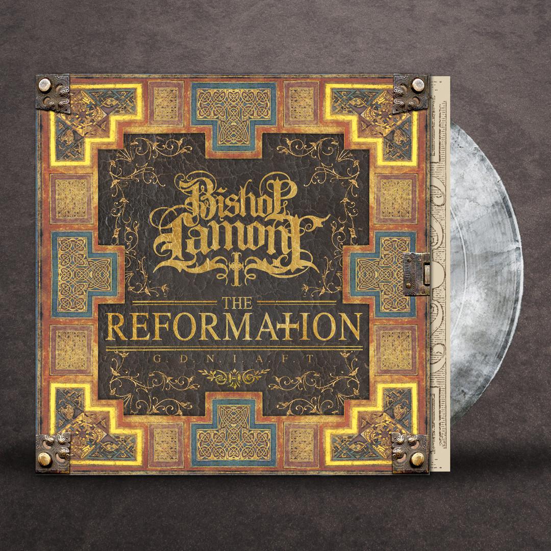 "Art Direction: Vinyl package design for recording artist Bishop Lamont's 2016 album release, ""The Reformation: G.D.N.I.A.F.T"""