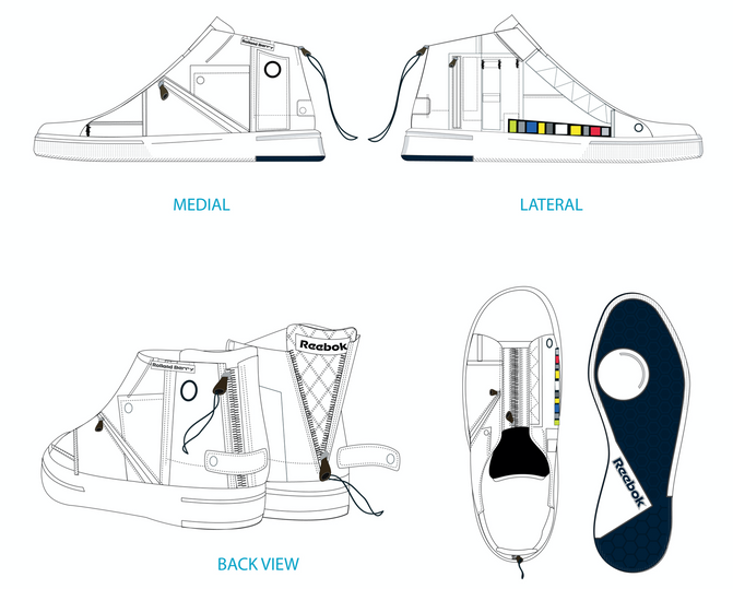 Technical design for Rolland Berry: Reebok