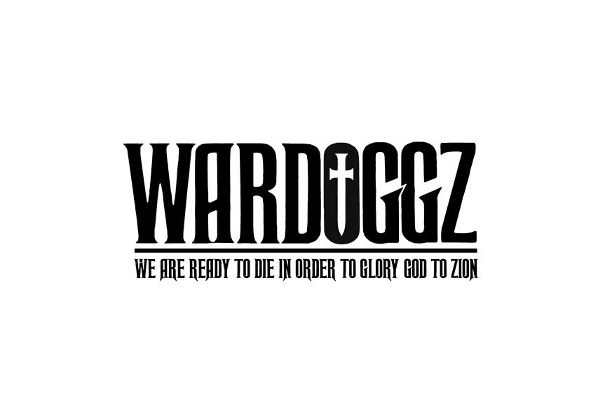"Logo design for recording artists merchandise brand ""Wardoggz."""