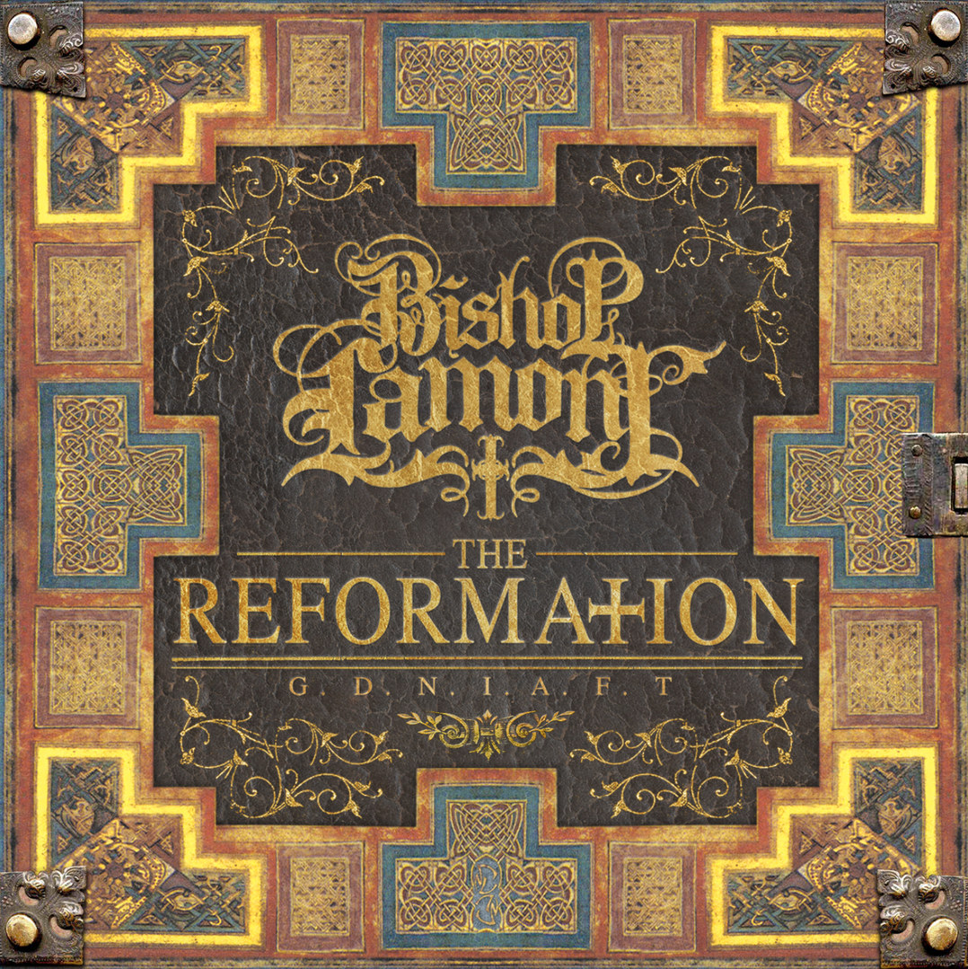 """Cover art for recording artist Bishop Lamont's debut album, """"The Reformation"""""""