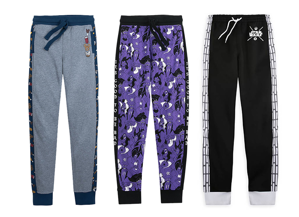 Design and art development of women's athletic joggers sold at Disney Parks & Resort and shopdisney.com