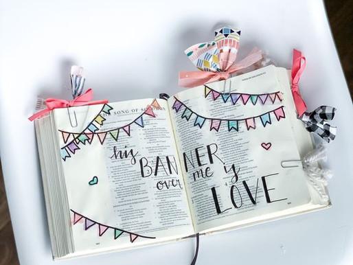 Bible Journaling & No Sew Crafts