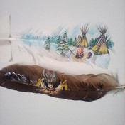 Painted Feather 006