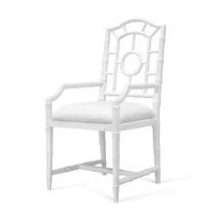 Bungalow 5 Chloe Arm Chair in White
