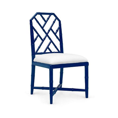Bungalow 5 - JARDIN SIDE CHAIR in NAVY BLUE